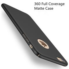 Fashion Hard Matte Case For iPhone 6 Cases 5s 5 SE 6s 6  For iPhone 7 Case Plus 360 Full Cover Plastic Phone Cover