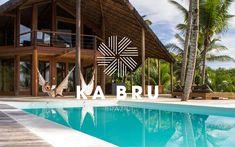 This is KA BRU Brazil. Brand Design, Brazil, Branding, River, Interior Design, Studio, Beach, Unique, Outdoor Decor