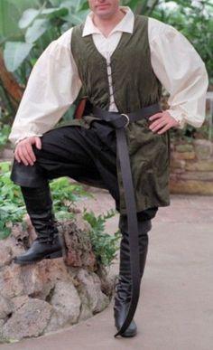Simple Lysander or Demetrius costume. Midsummer