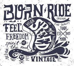 54667554-hand-drawn-grunge-vintage-illustration-with-hand-lettering-and-a-retro-helmet-skull-and-decoration-e.jpg (450×405)