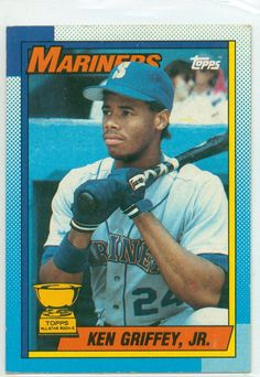 Most Valuable Topps Baseball Cards | Baseball Card Show Purchase #4 – 1990 Topps Ken Griffey, Jr.