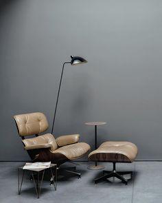 Lounge Chair & Ottoman   Charles & Ray Eames, 1956
