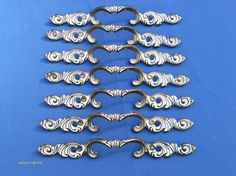 Vintage French Provincial Drawer Pulls by boxoftoys on Etsy, $52.00