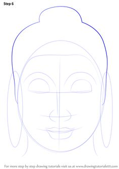 Learn How to Draw Buddha Face (Buddhism) Step by Step : Drawing TutorialsClick the link now to find the center in you with our amazing selections of items ranging from yoga apparel to meditation space decor! Buddha Drawing, Buddha Painting, Mandala Drawing, Pencil Art Drawings, Art Drawings Sketches, Drawing Painting Images, Buddha Thoughts, Buddha Face, Indian Art Paintings