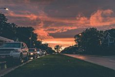 http://www.instagram.com/yoshigrams    #Winnipeg #Manitoba #Canada #Sony #A7ii #Mirrorless #35mm #Photography #Sunset #Sky