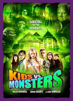 """Horror Town USA: Release Date For """"KIDS VS. MONSTERS"""":"""