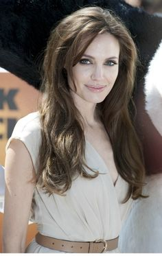 Angelina Jolie...wouldn't you say she is a beautiful pale skin and dark hair?