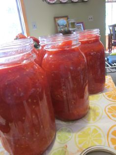 Cooking on the Front Burner: Canning Tomatoes