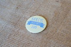 Personalised Hen Party 'Banner' Badges Handmade by SincerelyMay, £2.00