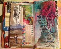 Junk Journal Page (by DawnsRays)