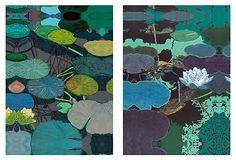 Allan P Friedlander, Water Lilies, Set of Two on OneKingsLane.com