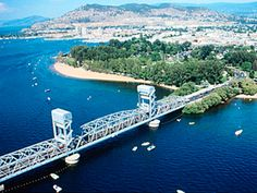 Okanagan Lake Bridge - Kelowna, British Columbia, Canada: Replaced by the WR Bennett Bridge-----walked across this bridge every day to get to work. Vancouver City, Vancouver Island, O Canada, Canada Travel, Things To Do In Kelowna, Western Canada, Quebec City, Outdoor Recreation, British Columbia
