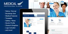 Shopping Medical - Health and Medical PSD TemplateIn our offer link above you will see