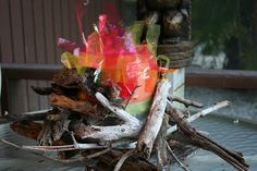 build a fake campfire | fake fire for survivor tribal council jo made this fake fire with ...