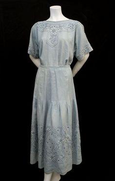 Ensemble  c.1915  Vintage Textile