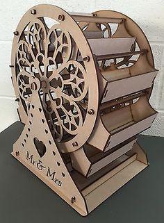 Y35 SWEET Ferris Wheel Carousel Wedding Big Day Party MDF Table Display Stand