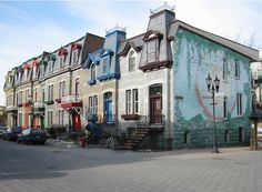 The Plateau in is filled with colorful Victorian style homes, creating an eccentric quilt of housing! Montreal Quebec, Montreal Canada, Destinations, St Denis, Salt Of The Earth, Victorian Style Homes, Belle Villa, City That Never Sleeps, Types Of Houses