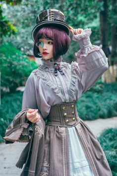 Surface Spell -Unfinished Book- Vintage Classic Lolita Blouse (2018 Version),Lolita Top,
