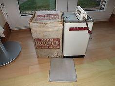 RARE 1940s Mettoy Tin Plate Alluminium Hoover Washing Machine Original Box FWO