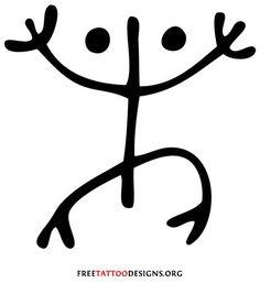 Taino symbol for the coqui.