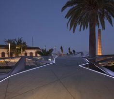 Guallart Architects_Motril_06 - bridges at night