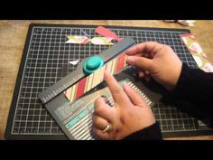 ▶ Create bows with the We R Memory Keepers Envelope Punch Board - YouTube