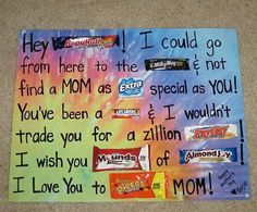 Mother's Day Candy Bar Poster, http://hative.com/candy-bar-poster-ideas-with-clever-sayings/