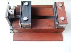 Morsa casera  - ¿Quieres ver más herramientas? Visita: http://www.hechoxnosotrosmismos.com/f7-herramientas-manuales