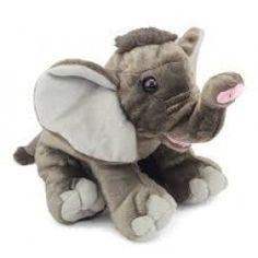 "Wild Republic Cuddlekin 12"" Elephant"