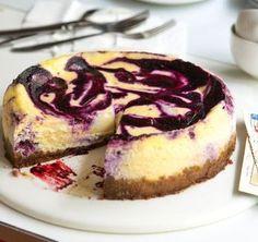 Borůvkový cheesecake (www.albert.cz/recepty)