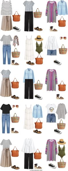 What to Pack for a Road Trip Plus Size Packing Light List Outfit Options 16-30