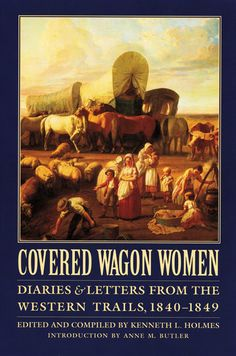 The women who traveled west in covered wagons during the 1840s speak through these letters and diaries. Here are the voices of Tamsen Donner and young Virginia Reed, members of the ill-fated Donner party; Patty Sessions, the Mormon midwife who delivered five babies on the trail between Omaha and Salt Lake City; Rachel Fisher, who buried both her husband and her little girl before reaching Oregon. Still others make themselves heard, starting out from different places and recording details alo...
