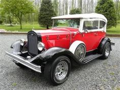 Look like a high-roller without the big price tag! 1932 Ford Model A