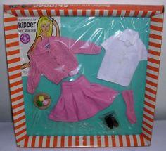 Barbie 1965 SKIPPER  & SKOOTER  SCHOOL DAYS  #1907 NRFB, MINTY!