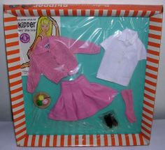 1965 Skipper - School Days (pink socks) #1907