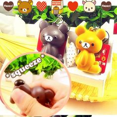 rilakkuma squeeze toy kawaii cute rare squeeze toy squishy