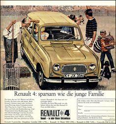 Renault 4 - Werbung