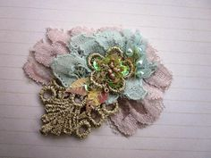 Candy Colors Lace Applique by MagicalMysteryTuca on Etsy, $45.00