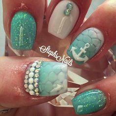 nails, ancla, piedras