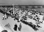 Photo of The Beach c1960, Bournemouth