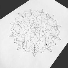 28 отметок «Нравится», 1 комментариев — Tattoo artist Анастасия (@rybinatattoo) в Instagram: «#эскиз #мандала #мандалатату #дотворк #дотворктату #tattoogirl #tattoo #mandala #rybinatattoo…»