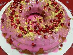 Yummy Cakes, Doughnut, Birthday Cake, Cooking Recipes, Sweet, Breads, Desserts, Food, Candy