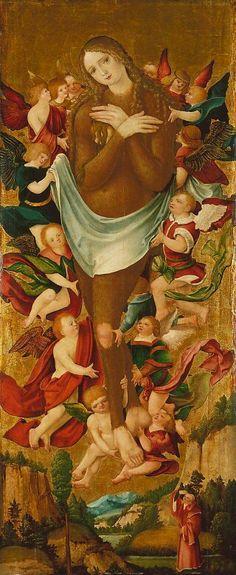 Maria Maddalena Jan Polack, 1500,  Tilman Riemenschneider, part of the Münnerstadt Altar, 1490-92, Bayerisches Nationalmuseum, Peter Strüb the Younger, 1530-1540, Minneapolis Institute of Arts
