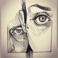 Artist / (@lea_nahon) Léa Nahon. #drawinganatomyandart