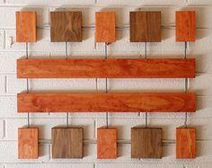 Jasper Wall Sculpture, Wood Wall Art, Mid-Century Modern, Minimal, Geometric, Retro, Contemporary, Abstract, Wall Decor, Art Object