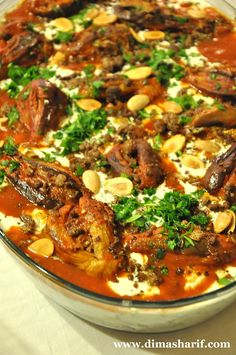 For this Recipe in Arabic, follow this link    Fattet Makdoos is very similar in concept to fattet beitinjan But offers a whole new eating...