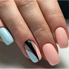 Beautiful nails Gentle summer nails, Marine nails, Nails ideas Pink and blue nails, Summer nails Summer nails to the sea, Vacation nails Natural Nail Designs, Best Nail Art Designs, Marine Nails, Nail Art Design Gallery, American Nails, Vacation Nails, Nail Art Images, Luxury Nails, French Tip Nails