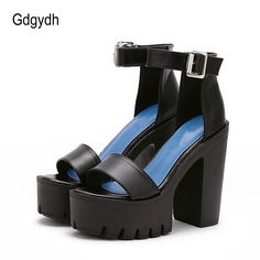 3f0203e58 Gdgydh Drop Shipping White Summer Sandal Shoes for Women 2018 New Arrival  Thick Heels Sandals Platform Casual Russian Shoes-in Women's Sandals from  Shoes on ...