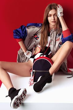 Gigi Hadid and Tommy Hilfiger Unveil a New Racing-Inspired Collection