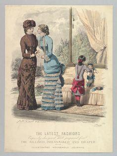 Le Moniteur de la Mode', designed by Jules David (French, 1808–1892). Late 1870's or 1880-1882, approx.